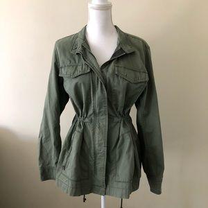 GAP green military jacket size XL